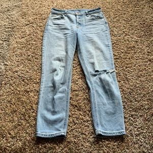 Wild fable light wash mom jeans